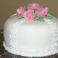 Fondant And Roses