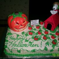 It's The Great Pumpkin  I made this cake for my son's 1st grade class party for Halloween. The kids loved it and so did the teachers. Vanilla cake with...