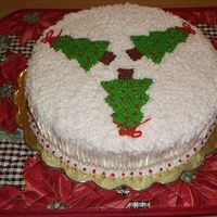 Christmas Cake Just a simple Christmas eve cake.