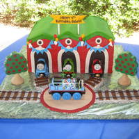 Gabriel's 4Th Birthday - Tidmouth Sheds