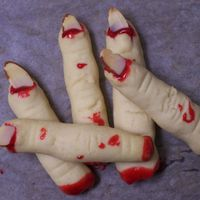 Witch Fingers  Thanks to all the CC'ers for your inspiration for these cookies. My daughter thinks they're disgusting. That's exactly the...