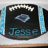 Carolina Panthers for a 7 yr old boy