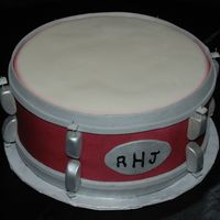 Snare Drum Grooms Cake  I have never done a cake like this, so when I was asked to do it I told her no, but I knew I would give it a try and if she didn't...