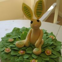 Bunny This is a gum paste replica of a child's stuffed animal. I did this for a baby shower cake and used the baby's first toy as the...