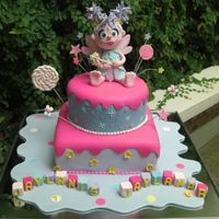 Abby Cadabby Cake All Characters are edible,all sugar