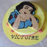 Snow White Fbtc I didn't want o upload this picture because the frozen buttercream transfer (my first time) didn't come out so well. Then I...