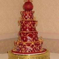 Royal Wedding  I have made this wedding cake for a couple a few months ago. The appreciation and the compliments I received on this cake were overwhelming...