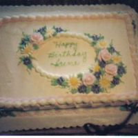 Irene's Birthday Cake I really like using this design especially for spring with all spring colors.