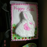 Easter Cake Pic 2   Just an overhead shot of the top of the easter cake.