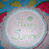 Practice Cake   Just a simple practice cake to help me on some of my techniques.