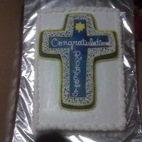 Chaplains Cake   This is a cake for a Chaplains promotion to Lieutenant Commander.