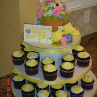 Teacher Of The Year! Cuppies Here is a pic. of the whole tower. I hope she likes it!