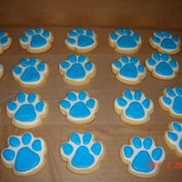 Husky Pups These were also for my DD's field day. They are the Husky Pups so I made some little paw prints. tfl!