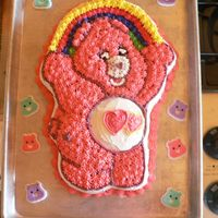 Care Bear Made with wilton cake pan