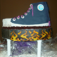 Sneaker Cake For My Niece's 10Th B'day.