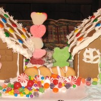 Kids Redneck Gingerbread House Design