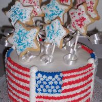 Stars & Stripes Here's another one from the Wilton Yearbook. My daughter was the one who picked this one out.