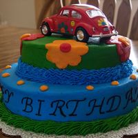 Flower Power This was another one that my sister-in-law ordered. It was for her father's 70th birthday party. She wanted something that coordinated...
