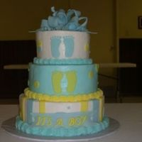 Blue & Yellow Baby Shower