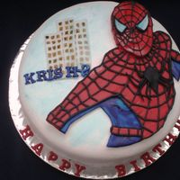Spiderman Cake Krish 2 in line with Spiderman 2