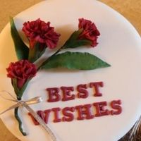 Best Wishes Cake