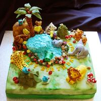 Jungle Cake My Jungle Cake adaptation with due permission and thanks to Dods.