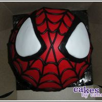 Spiderman Cupcake! Giant Spiderman cupcake! Used the giant Wilton cupcake pan for this bad boy. My coworker didn't really want that much fondant on the...