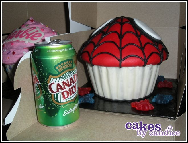 Spiderman Cupcake!