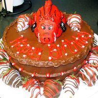 Chocolate Arkansas Razorbacks