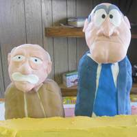 Waldorf And Statler Muppets For my FIL birthday... again, he loves muppets and turned 60 this year. I ran out of time for the balcony so I editted it out of the...
