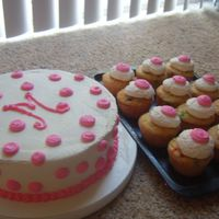 Surprise Goodbye Party Cake For A Pink Loving Girly Girl