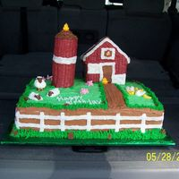 Farm Cake Idea from wilton web