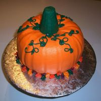 Pumpkin Cake Pumpkin cake with buttercream