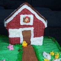 Farm Cake Animals royal icing