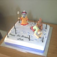 Scooby Doo Cake At 10 o'clock at night my sister in law asked me to make a cake for her son's birthday, which was the following day. I didn'...