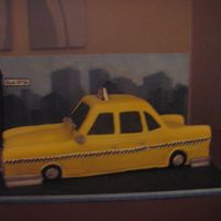 New York Taxi Another view - sorry about quality of picture!