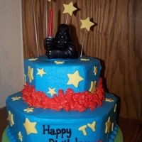 "Star Wars   Thanks for all the ideas I ""borrowed"" from you guys at cake central. They are much appreciated!!!"