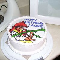 Yuyu Hakusho - Kurama This creation was done for my friend's 34th birthday. This is also my very first FBCT. It isn't as perfect as I would like, but I...