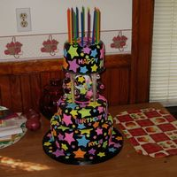 "Kylie's Sweet Sixteen This cake was for my nieces sweet 16. The bottom in a 10"" banana creme cake, the middle was an 8"" hot fudge cake, and the top was..."