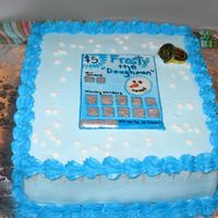 Scratch Ticket Cake Another scratch ticket cake for this past holiday season.
