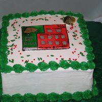 Scratch Ticket Cake Just another holiday scratch ticket cake.