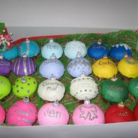 Ornament Cupcakes just more
