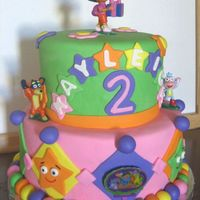Dora Explorer Cake this is an interpretation of a cake a customer emailed me a picture of. She wanted a few minor changes to the design, but it was pretty...