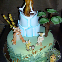 Ice Age All hand crafted edible made in fondant