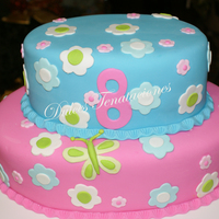 Ariadna   This cake I made for my grandaugther