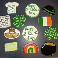 St Patricks Day Cookies Thanks for looking! You can tell I havent posted in a while!!