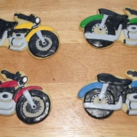 Motocycle Cookies Thanks for looking! These were for a fundraiser for a child who loves motorcyles