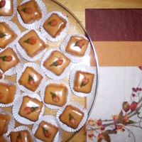 Petit Fours, Fall Bridal Shower These were done last year for a Fall themed bridal shower. The bride-to-be wanted me to match one or more of the colors in her napkins (...