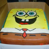 Spongebob All buttercream
