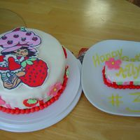Strawberry Shortcake This is a birthday cake for my little's girl's best friend next door to us. She is turning 3. She loves Strawberry Shortcake. I...
